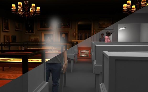 thresholds vr mat collishaw realtà virtuale mostra fotografia