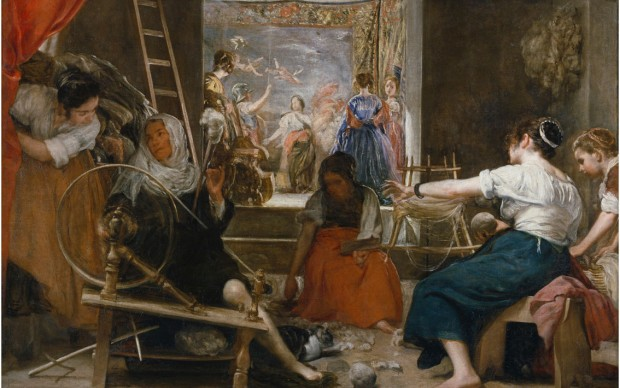 The Spinners, or the Fable of Arachne Diego Velázquez Oil on canvas, 167 x 252 cm c. 1655-60 Madrid, Museo Nacional del Prado