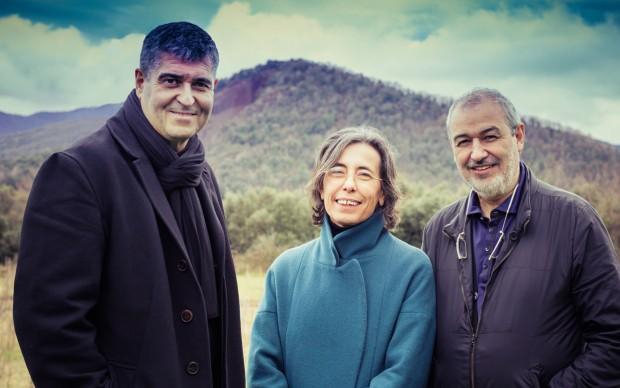 Rafael Aranda, Carme Pigem e Ramon Vilalta, studio RCR Arquitectes, Pritzker Prize 2017