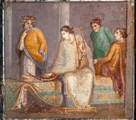 Concerto di donne Stabia, I secolo, Napoli, Museo Archeologico Nazionale