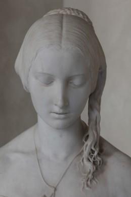 Vincenzo Vela, La preghiera del mattino, 1846, Marmo di Carrara, Photo by Marilena Anzani © Aconerre