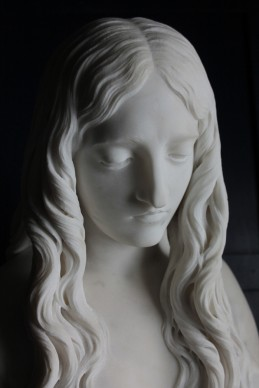 Innocenzo Fraccaroli, Eva dopo il peccato, 1861-1862, Marmo, Photo by Marilena Anzani © Aconerre