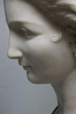 Francesco Romano, Coquette, 1863, Marmo, Photo by Marilena Anzani © Aconerre