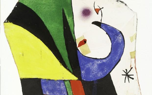 Joan Miró, Maqueta para Gaudí X /Maquette for Gaudí X, 1975 [ca] © Successió Miró by SIAE 2017, Archive Fundació Pilar i Joan Miró a Mallorca © Joan Ramón Bonet & David Bonet