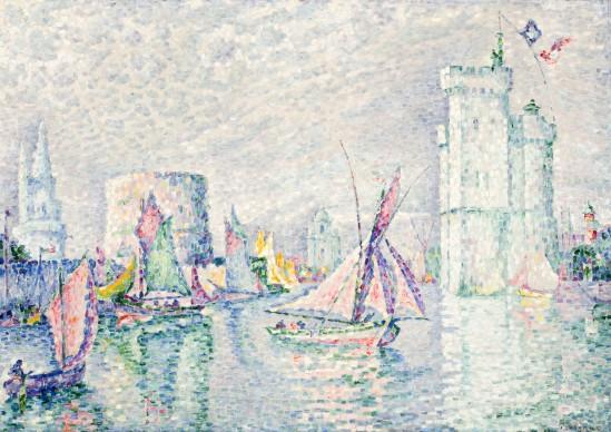 Paul Signac, La rochelle, 1912, olio su tela, cm 71,2 x 100