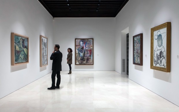 'Pablo Picasso. New Collection'. View of Gallery 4 Photo: Jesús Domínguez © Museo Picasso Málaga © Sucesión Pablo Picasso, VEGAP, Madrid, 2017