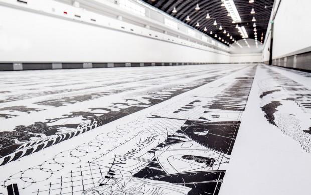 copyright © Ai Weiwei. Photo Benito Frazzetta. Ai Weiwei, Odyssey, 2017, exhibition view, ZAC, Palermo