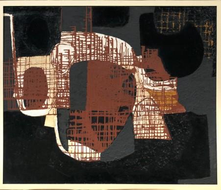 Alberto Burri, Catrame, 1950, Collezione privata, Firenze, courtesy Tornabuoni Arte