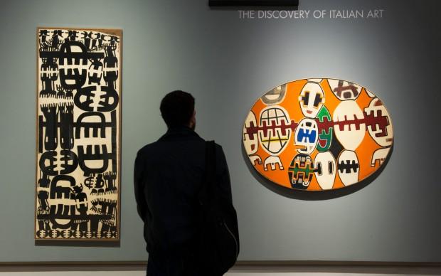 Gallerie d'italia_Capogrossi mostra New York New York