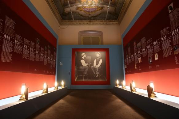 Toulouse-Lautrec. La belle époque, exhibition view, Museo della Fondazione Arena di Verona