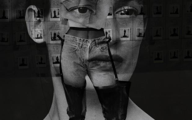 """©HERMÈS """"Portraits de femme en Hermès : Marie-Anne"""" Autumn/Winter 1999-2000 - photo Joanna Van Mulder MAISON MARTIN MARGIELA Autumn/Winter 1990-1991 - photo Ronald Stoops - graphic design Jelle Jespers"""