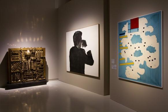 NEW YORK NEW YORK. Arte Italiana: la riscoperta dell'America, exhibition view della mostra al Museo del Novecento, Milano