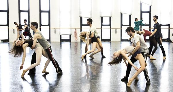 Shéhérazade  - prove in sala - foto Brescia e Amisano - Teatro alla Scala