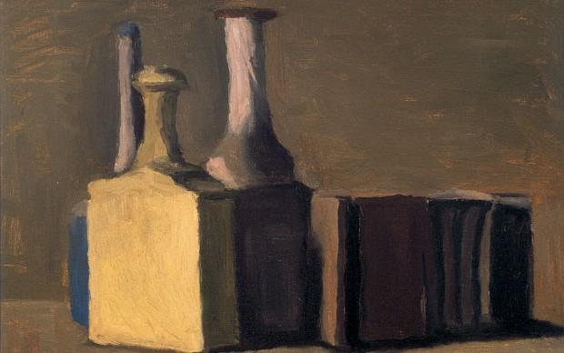 Giorgio Morandi, Natura morta, olio su tela, cm 44,50 x 46,50, 1941. Fondazione Cassa di Risparmio di Verona Vicenza Belluno e Ancona