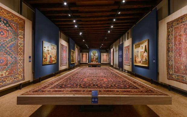 serenissime-trame-tappeti-oriente-dipinti-rinascimento-ca'-d'oro-venezia