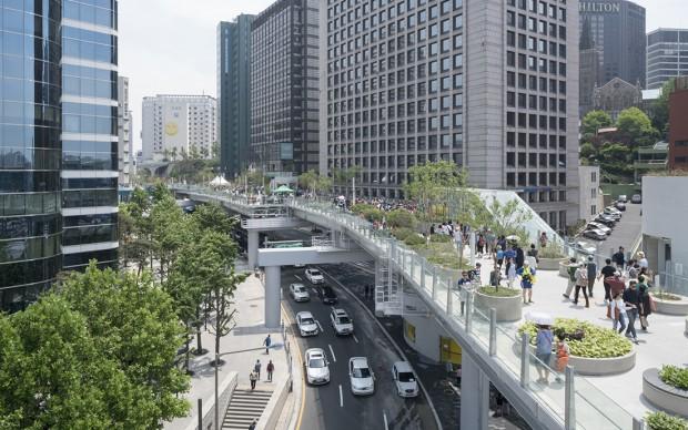MVRDV, Skygarden Seoul © Ossip