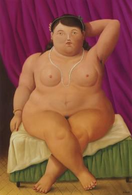 Fernando Botero, Donna seduta, 1997