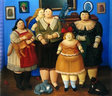 Fernando Botero, Le sorelle, 1969-2005