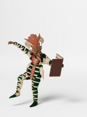 Paul Bodmer for the Schweizerisches Marionettentheater, puppet Colas for W.A. Mozart's Bastien und Bastienne, 1923, Applied Arts Collection, Museum für Gestaltung
