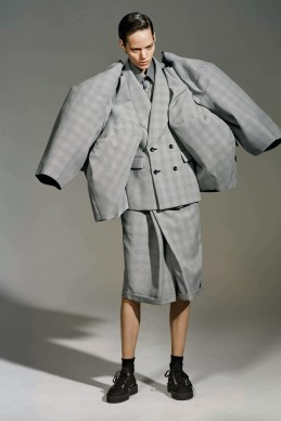 Rei Kawakubo for Comme des Garçons, The Infinity of Tailoring, autumn/winter 2013–14; Courtesy of Comme des Garçons. Photograph by © Collier Schorr; Courtesy of The Metropolitan Museum of Art