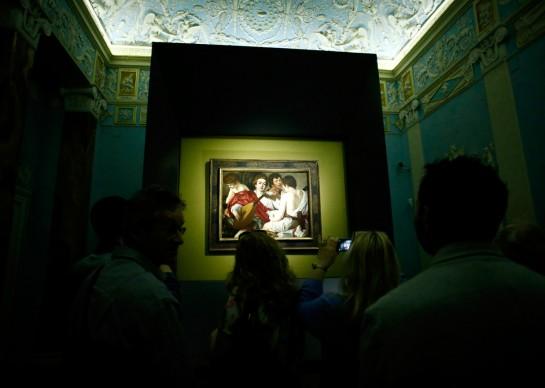 Sky Arte Festival, 5-7 maggio, Napoli -  Esposizione de I musici di Caravaggio presso le Gallerie d'Italia