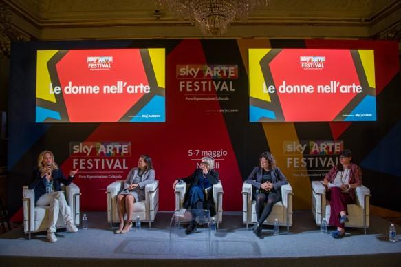 Sky Arte Festival, 5-7 maggio, Napoli - Le donne nell'arte