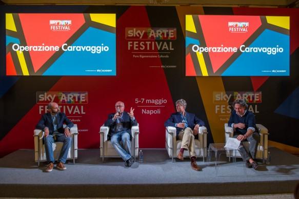 Sky Arte Festival, 5-7 maggio, Napoli -  Operazione Caravaggio - La tecnologia al servizio dell'arte perduta, con Peter Glidewell, il Prof. Nicola Spinosa e Jordi Garcia Pons di Factum Arte
