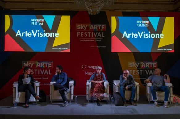 Sky Arte Festival, 5-7 maggio, Napoli -  tavola rotonda curata da Sky Academy in collaborazione con Careof e Museo MADRE per ARTEVISIONE