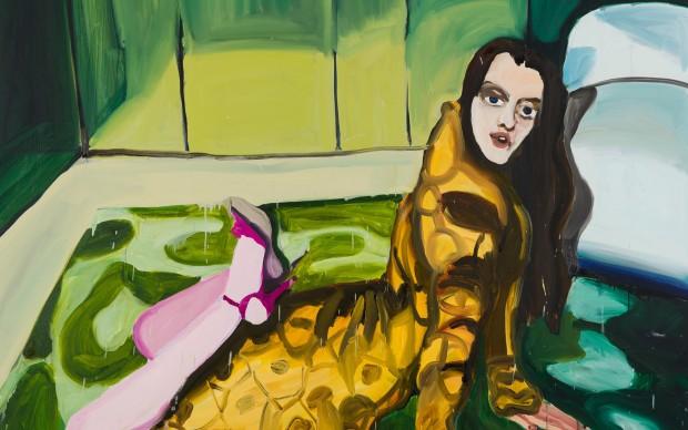 Jenni Hiltunen - Yet Untitled, 2016 Olio su tela - 170 x 200 cm
