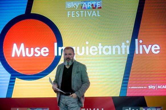 Sky Arte Festival, 5-7 maggio, Napoli -  Muse inquietanti live con Carlo Lucarelli e Bottega Finzioni
