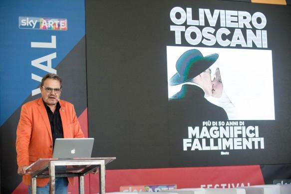Sky Arte Festival, 5-7 maggio, Napoli - Masterclass di Oliviero Toscani