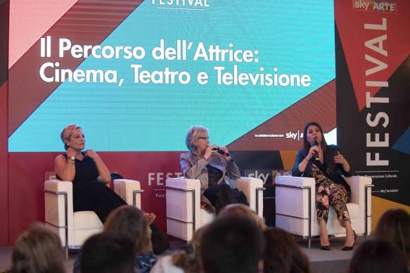 Sky Arte Festival, 5-7 maggio, Napoli - Il percorso dell'attrice: Cinema, Teatro e Televisione con Piera Detassis, Cristina Donadio e Geppi Cucciari