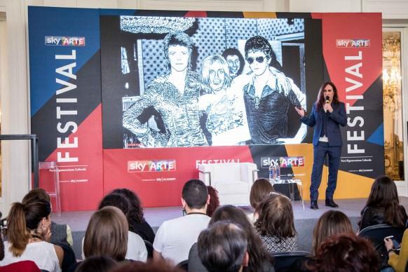 Sky Arte Festival, 5-7 maggio, Napoli -  L'identità dell'artista, masterclass di Manuel Agnelli