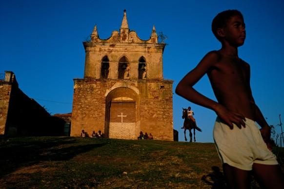 Nuestra Senora de la Candelaria de la Popa, the oldest church in Trinidad. 1998. Trinidad, Cuba © Credits: David Alan Harvey