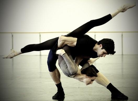 Progetto Haendel - Svetlana Zakharova e Roberto Bolle in prova - ph Brescia e Amisano, Teatro alla Scala