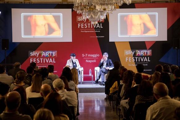 Sky Arte Festival, 5-7 maggio, Napoli - Roberto D'Agostino