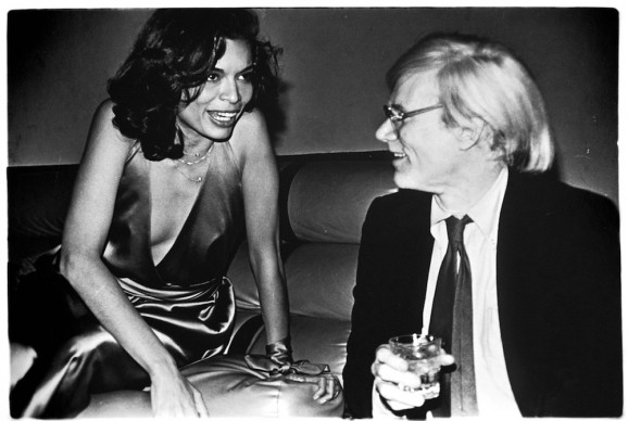 Andy Warhol and Bianca Jagger © Anton Perich