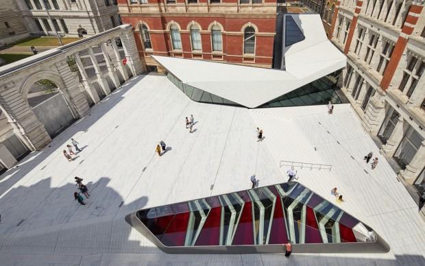 V&A Exhibition Road Quarter, designed by AL_A © Hufton+Crow