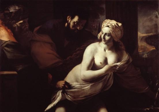 Mattia Preti, Susanna e i vecchioni, 1656-1659, Olio su tela, cm. 120 x 170