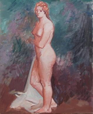 Achille Funi, Nudo di donna, 1930