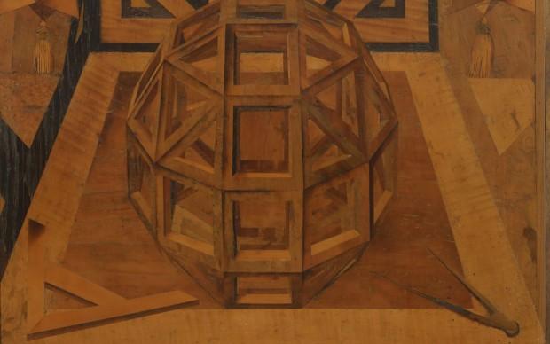 Frà Damiano Zambelli da Bergamo, Composizioni di solidi geometrici, 1538 circa Bologna, Museo di San Domenico