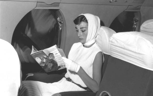 Air France e star Audrey Hepburn