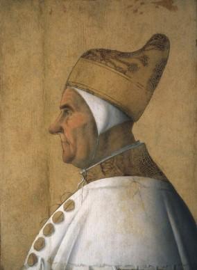 Gentile Bellini. Ritratto del Doge Giovanni Micebugo, c. 1478-1483. Venezia, Fondazione Musei Civici, Museo Correr