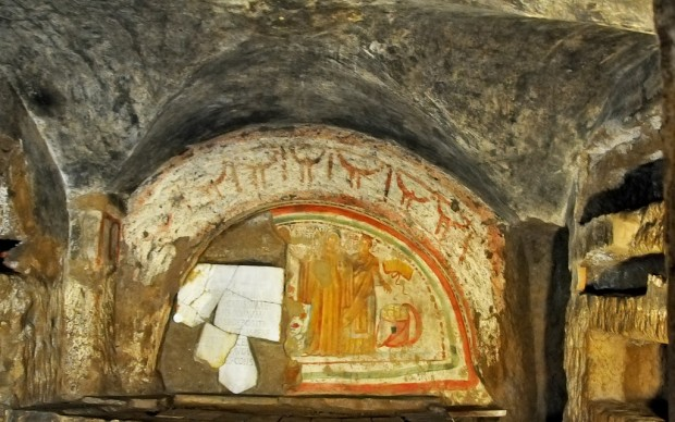 Dennis Jarvais, Catacombe di Domitilla, Roma, 2010