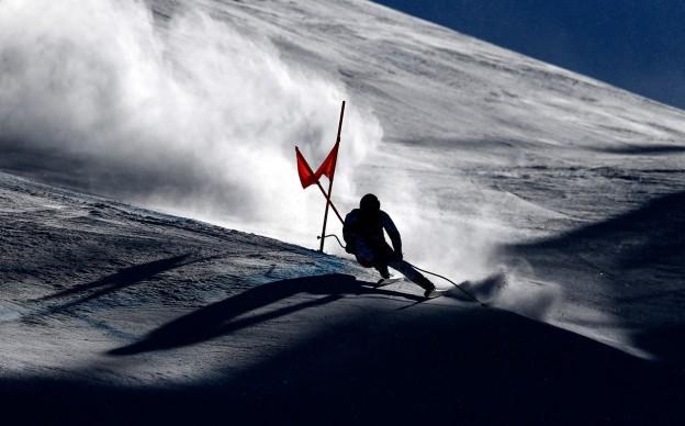 RACING INTO THE SHADOWS, Gara di Klaus Kroell all'Audi FIS Ski World Cup, Dicembre 2015, Beaver Creek, Colorado © Credits: Ezra Shaw / Getty Images