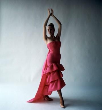 Flamenco-style evening dress, Cristóbal Balenciaga, Paris, 1961. Photograph by Cecil Beaton, 1971 © Cecil Beaton Studio Archive at Sotheby's