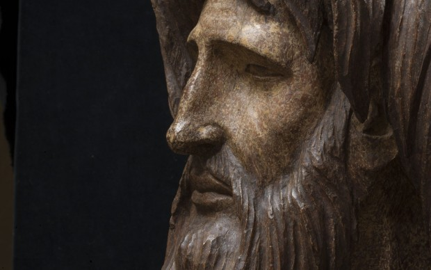 Giovanni Pisano Angelo-con-la-testa-del-Battista,-particolare-Pistoia ph.-Serge-Domingie