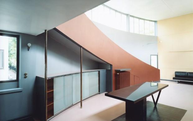 Guido Guidi, Maison La Roche, 2003, stampa a contatto, 20 x 25 cm