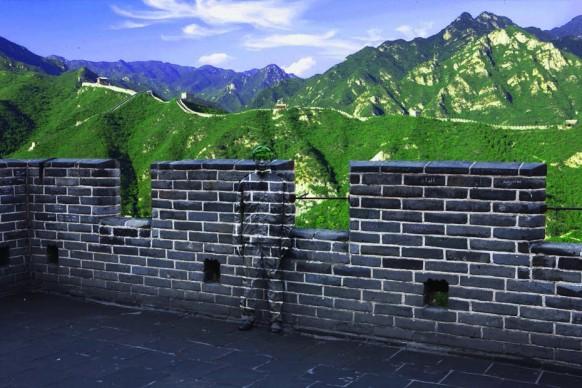 Liu Bolin, Great Wall