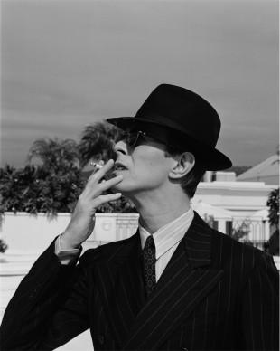 David Bowie, Los Angeles, 1994 © Michel Haddi